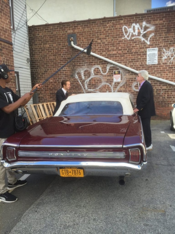 Filming The Expediter, David Olsen