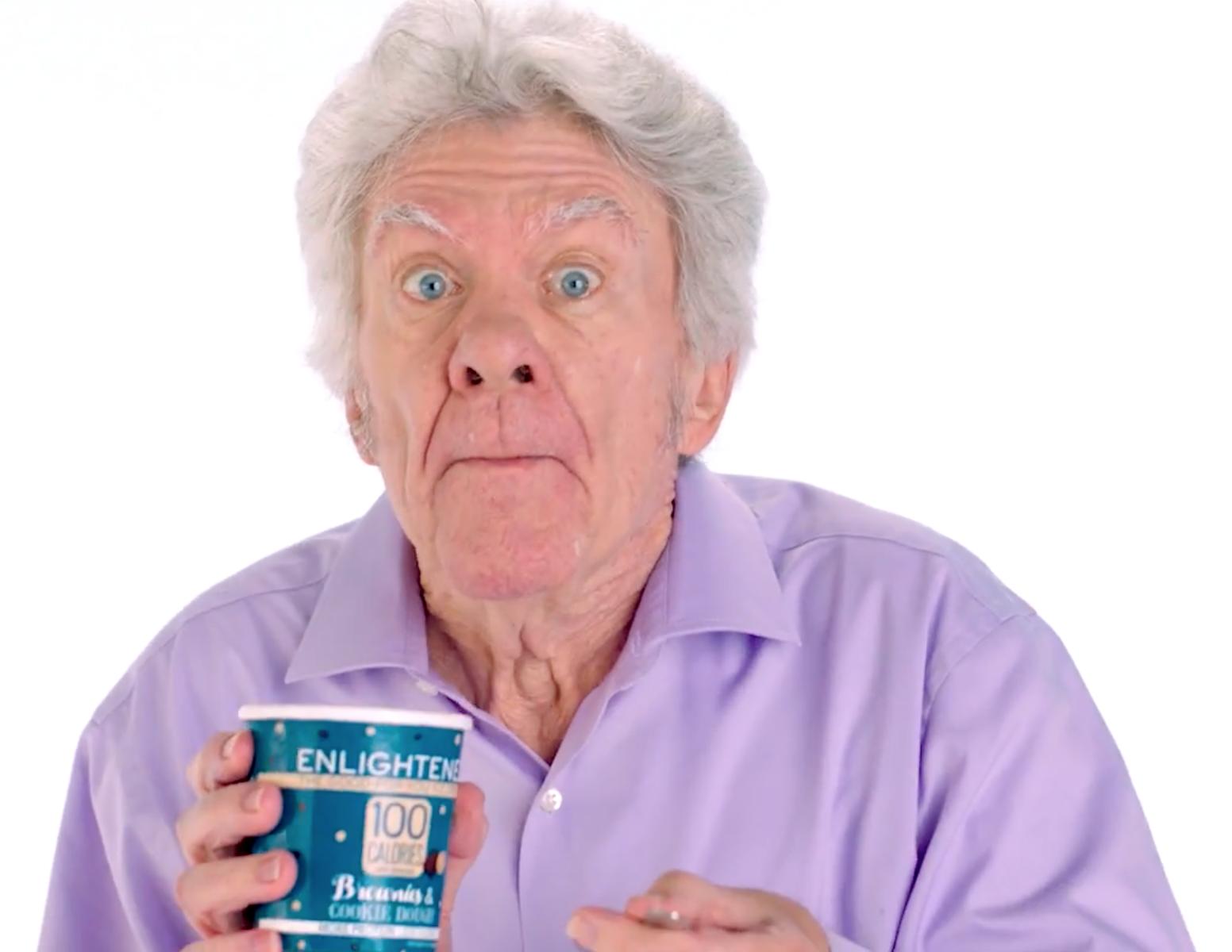 Wheres David?, David Olsen, Enlightened Ice Cream Ad