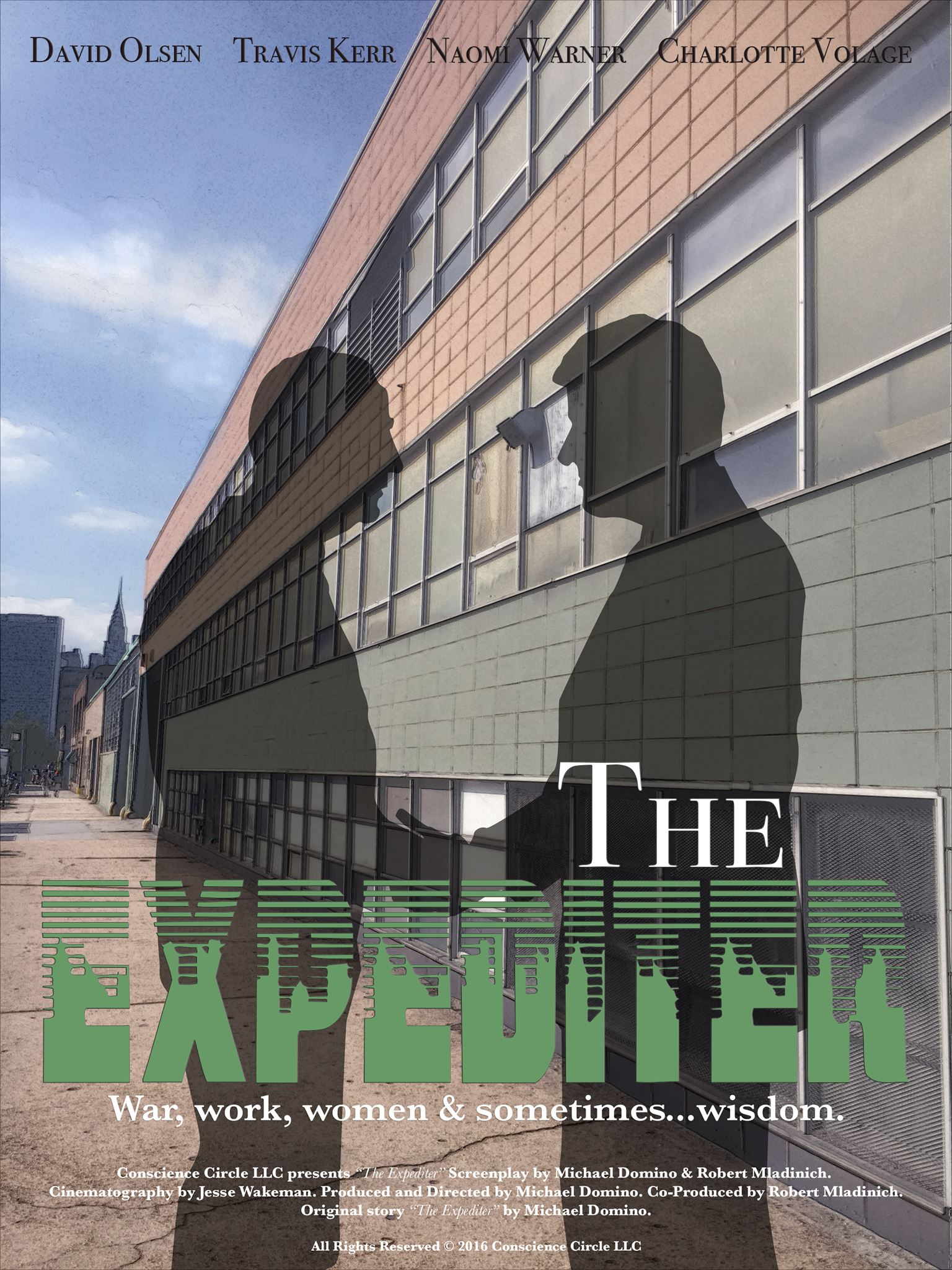 The Expediter Movie, David Olsen, Jake Cutter